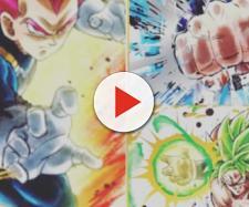 Image credit:Joshua Addison/Twitter screenshot. Dragon Ball Super: Broly: Vegeta will be revealed as Super Saiyan God (Image via DBS/Twitter)