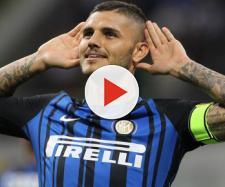 L'attaccante dell'Inter, Mauro Icardi