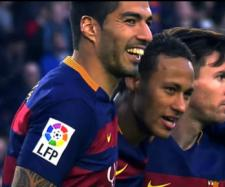 Suárez, Neymar e Messi [Imagem via YouTube]