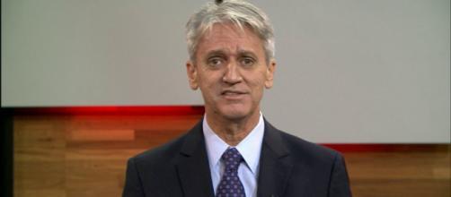 Comentarista da Globo News, Valdo Cruz. (foto reprodução).