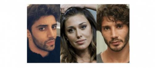 Gossip: Belen Rodriguez accoglie Iannone e De Martino in casa lo stesso pomeriggio.
