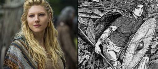 Lagertha na série Vikings. (Reprodução - History).