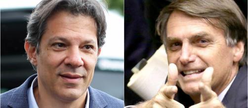 Pesquisa aponta Bolsonaro liderando com 60,9% dos votos válidos contra 39,1% de Fernando Haddad