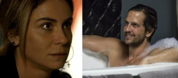 Luzia vê Remy vivo e se desespera em Segundo Sol. (foto reprodução).