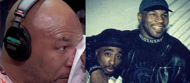 Mike Tyson assieme a Tupac Shakur