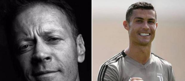Rocco Siffredi y Cristiano Ronaldo. / Instagram