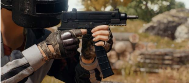 The Skorpion is now live on the Test Servers. [Image source: PLAYERUNKNOWN'S BATTLEGROUNDS/YouTube]