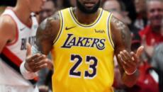 LeBron James tem amarga estreia nos Lakers