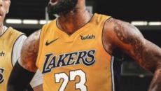 LeBron James faz nesta quinta sua estreia com a camisa dos Lakers