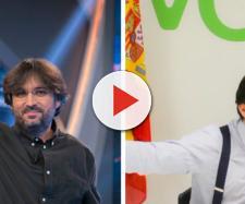 Jordi Évole y Santiago Abascal en imagen
