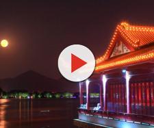 Sfondi : Cina, città, viaggio, Luna, Turismo, orizzontale, notte ... - wallhere.com