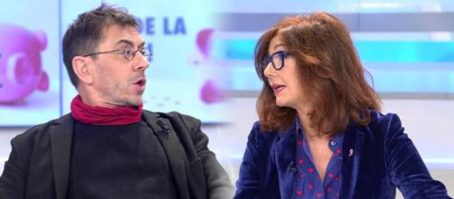 Ana Rosa y Juan Carlos Monedero