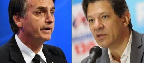 Bolsonaro ampliou sua vantagem para Haddad