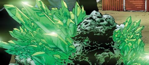 Kryptonita, uma das maiores fraquezas do Superman.
