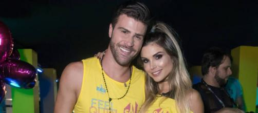 Marcelo tanto investiu que conseguiu engatar um romance com Flavia