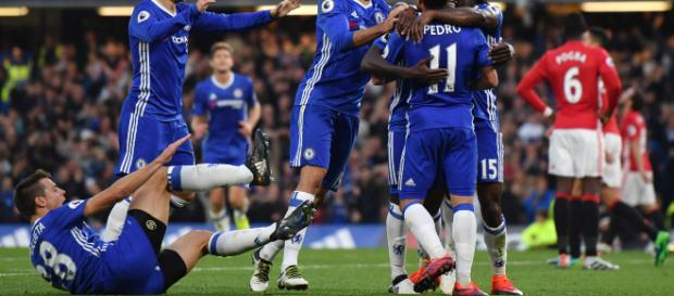 Chelsea destroyed United a couple of years ago by 4-0. (Image via skysports.com)