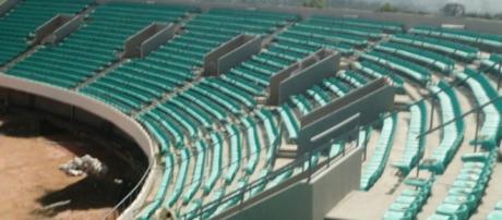 Construction du Stade de Garoua (c) Google