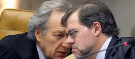 Lewandowski tem conversa séria com Toffoli sobre decisão de Fux em barrar entrevista de Lula