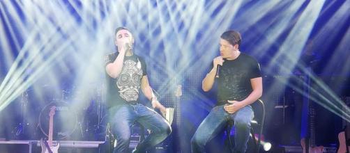 Andy y Lucas, en un concierto reciente. / TWITTER