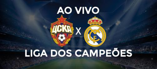Champions League: CSKA x Real Madrid ao vivo
