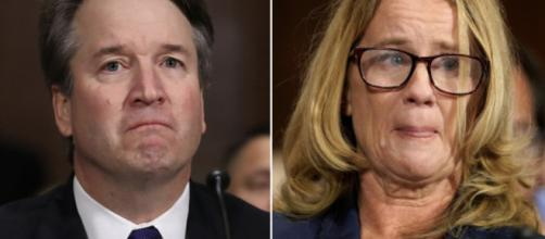 Dr. Christine Blasey Ford Gets Emotional As She Testifies