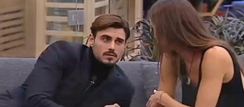 GF Vip, Francesco Monte piange per Cecilia