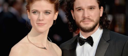 Jon Snow e Ygritte no altar! Atores de Game of Thrones se casam na Escócia.