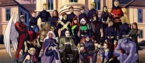 Todos os personagens em X-Men Evolution.