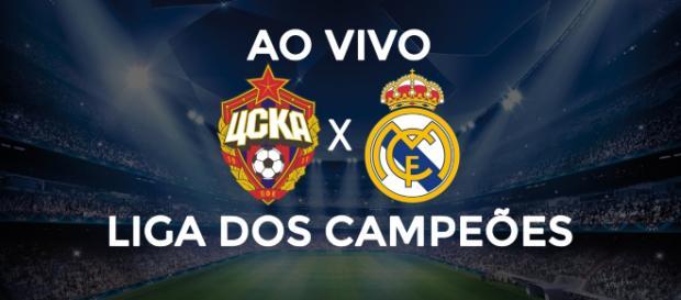 Champions League: CSKA x Real Madrid ao vivo