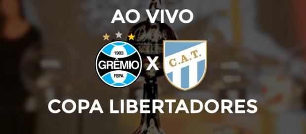 Grêmio x Atlético Tucuman ao vivo