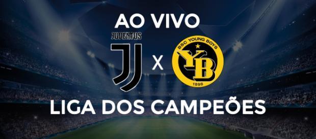 Liga dos Campeões: Juventus x Young Boys ao vivo