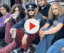 La band Lynyrd Skynyrd negli anni '70