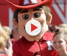 Nebraska mascot in action. - [Fansided.com / YouTube screencap]