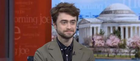 Daniel Radcliffe says kids don't believe he played the role of Harry Potter. [Image MSNBC/YouTube]