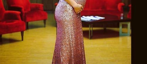 L'attrice Ilenia Lazzarin, protagonista di 'Un Posto Al Sole'.