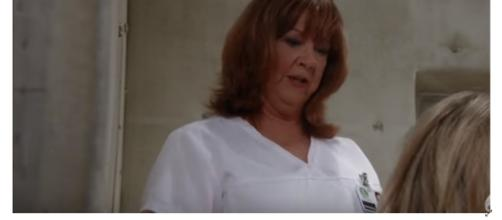 Mary Pat may help Kevin or be murdered by Ryan. [Image Source: General Hospital-YouTube]