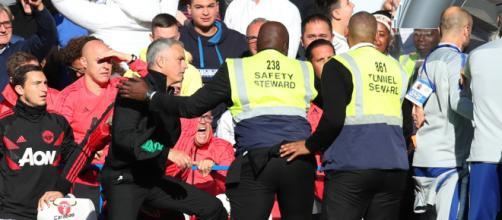 Português ficou enfurecido com provocação do adversário.