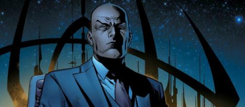 Professor Xavier, o líder dos X-Men.