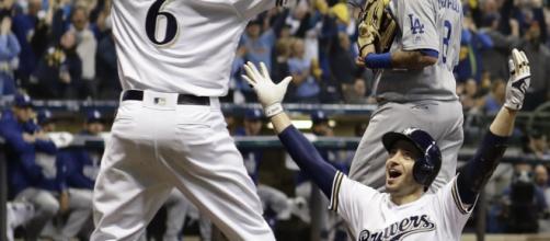 Ryan Braun tuvo una carrera producida y dos hits en el partido. MLB.com.