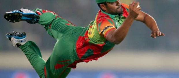 Bangladesh v Zimbabwe live cricket streaming (Image via ICC/Twitter)