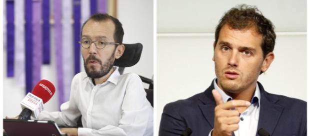 Echenique y Albert Rivera en imagen