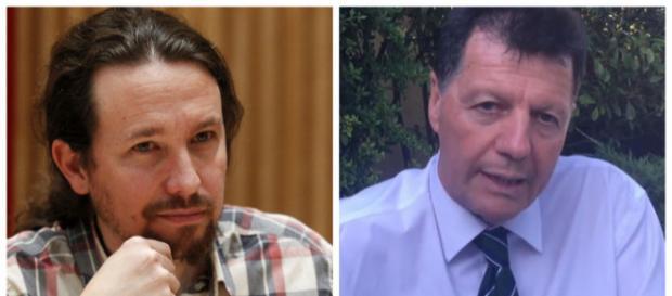 Pablo Iglesias y Alfonso Rojo en imagen