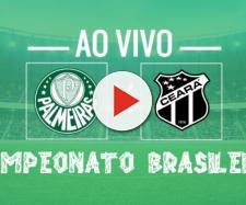 Brasileirão: Palmeiras x Ceará ao vivo. (foto reprodução).
