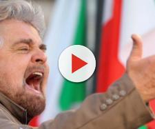 Dal palco di 'Italia a 5 Stelle' Beppe Grillo tuona contro il Quirinale