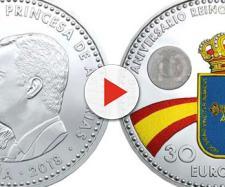 Moneda conmemorativa del 1300 aniversario del Reino de Asturias