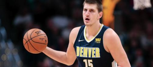 Nikola Jokic was easily the NBA player of the night with his historic triple-double in a Nuggets' win! - [Hoops House / YouTube screencap]