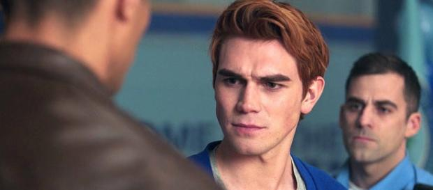 Archie is arrested. Image credit - Riverdale/YouTube screencap
