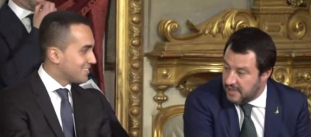 Luigi DI Maio e Matteo Salvini, 'anime' del Governo protagonista della manovra finanziaria