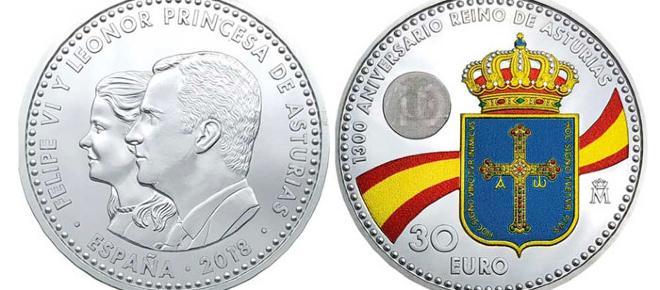 La moneda con la imagen de la princesa Leonor provoca polémica en redes sociales