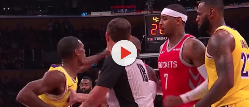 Twitter reactions to Rajon Rondo vs Chris Paul NBA fight